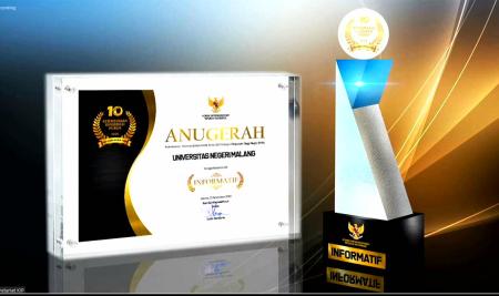 UM Berhasil Raih Penghargaan Badan Publik Dengan Kategori Informatif